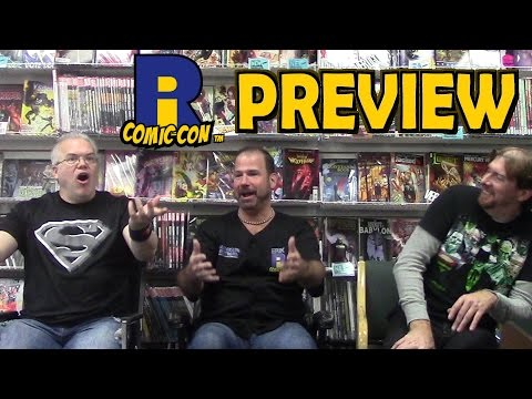 Rhode Island Comic Con 2016 PREVIEW  PART 1