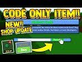 CODE ONLY ITEM!! *RETURNED* | Build a boat for Treasure ROBLOX