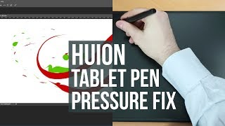 HUION Tablet Pen Pressure Doesn