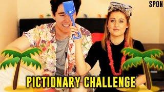 Pictionary Challenge with Ebony