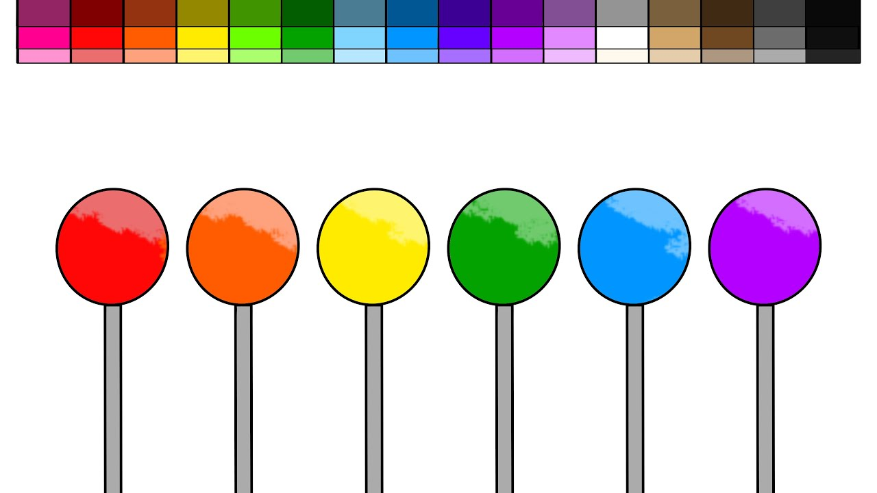 cake pop coloring pages - photo#7