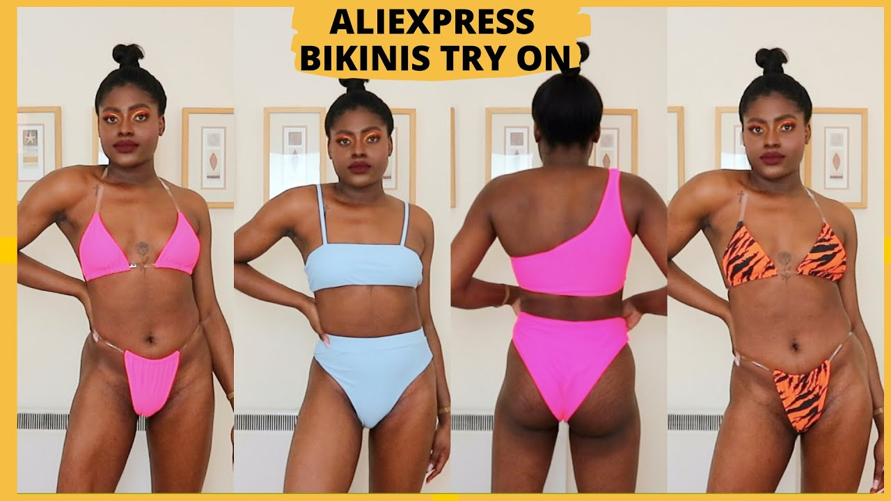 AFFORDABLE ALIEXPRESS BIKINIS TRY ON HAUL