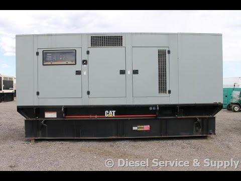 Caterpillar 500 KW Diesel Generator Set – Low-Hour Used Genset #87221
