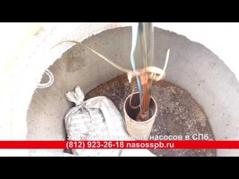 Как вытащить, достать насос из скважины, подъем со скважинного адаптера