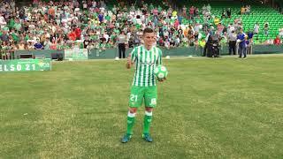 Presentación de Giovanni Lo Celso con el Real Betis Balompié