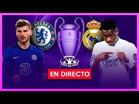 CHELSEA vs REAL MADRID EN VIVO 🔴 SEMIFINAL VUELTA CHAMPIONS LEAGUE
