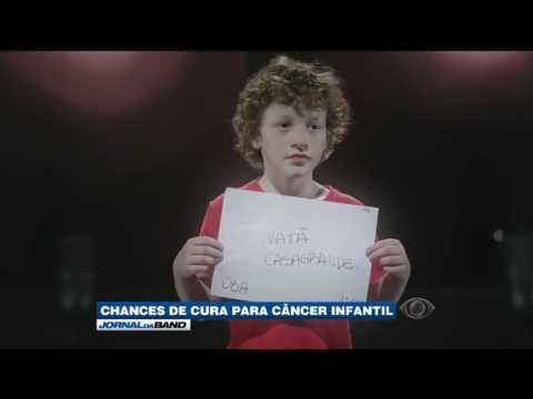 12 mil crianças tem câncer por ano no Brasil