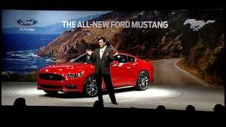 2015 Ford Mustang Reveal in Dearborn Michigan