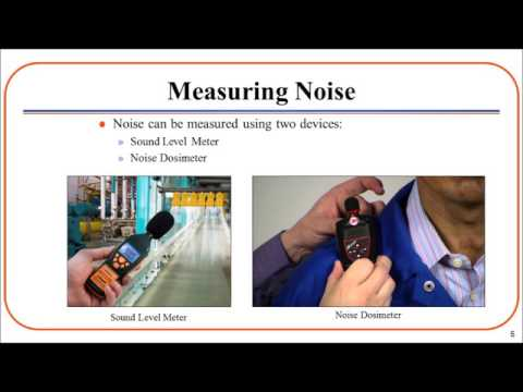 Occupational Noise Exposure - Sound Level Meters