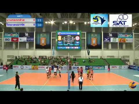 Bangkok Glass vs Thai-denmark Nongrua | 04 March 2017 | Thailand Women Volleyball League 2016/2017