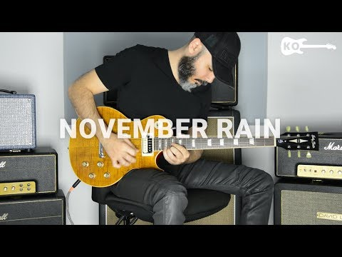 Guns N' Roses – November Rain – Electric Guitar Cover by Kfir Ochaion