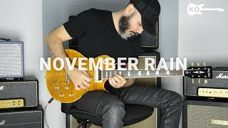 Guns N' Roses - November Rain - Electric Guitar Cover by Kfir Ochaion