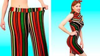 Крутые Лайфхаки с Одеждой | Крутые DIY из обычной одежда от Ideas 4 Fun