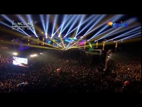 WALI BAND Feat SITI BADRIAH Live At Gempita 2014 (31-12-2013) Courtesy SCTV