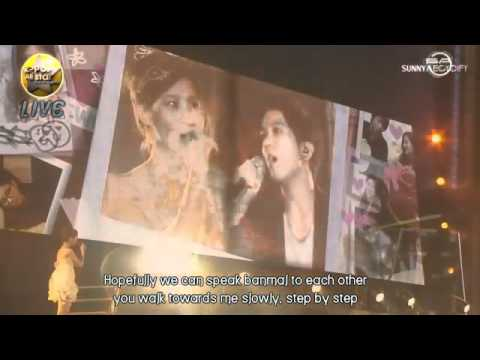 YongSeo - Banmal Song LIVE in Niigata ENG SUB