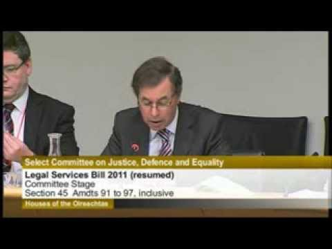 Legal Services Regulation Bill 2011, Committee Stage (resumed), Part 1