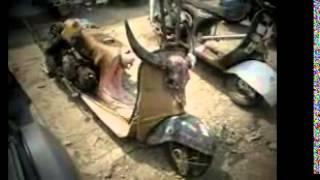 Modifikasi Motor Antik Vespa Gembel