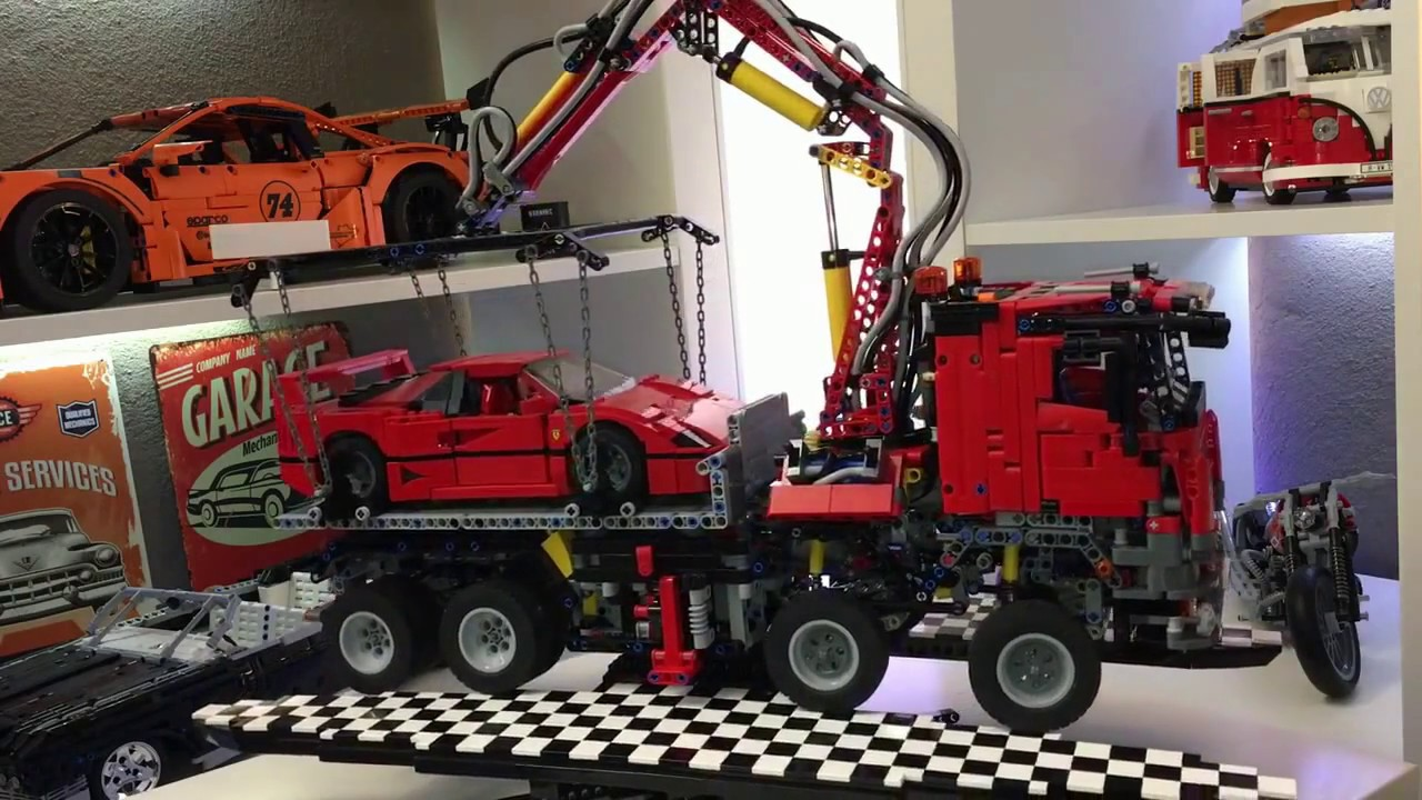 lego technic mercedes arocs moc youtube. Black Bedroom Furniture Sets. Home Design Ideas