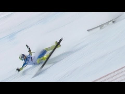 2012's Alpine Skiing Crashes - Universal Sports