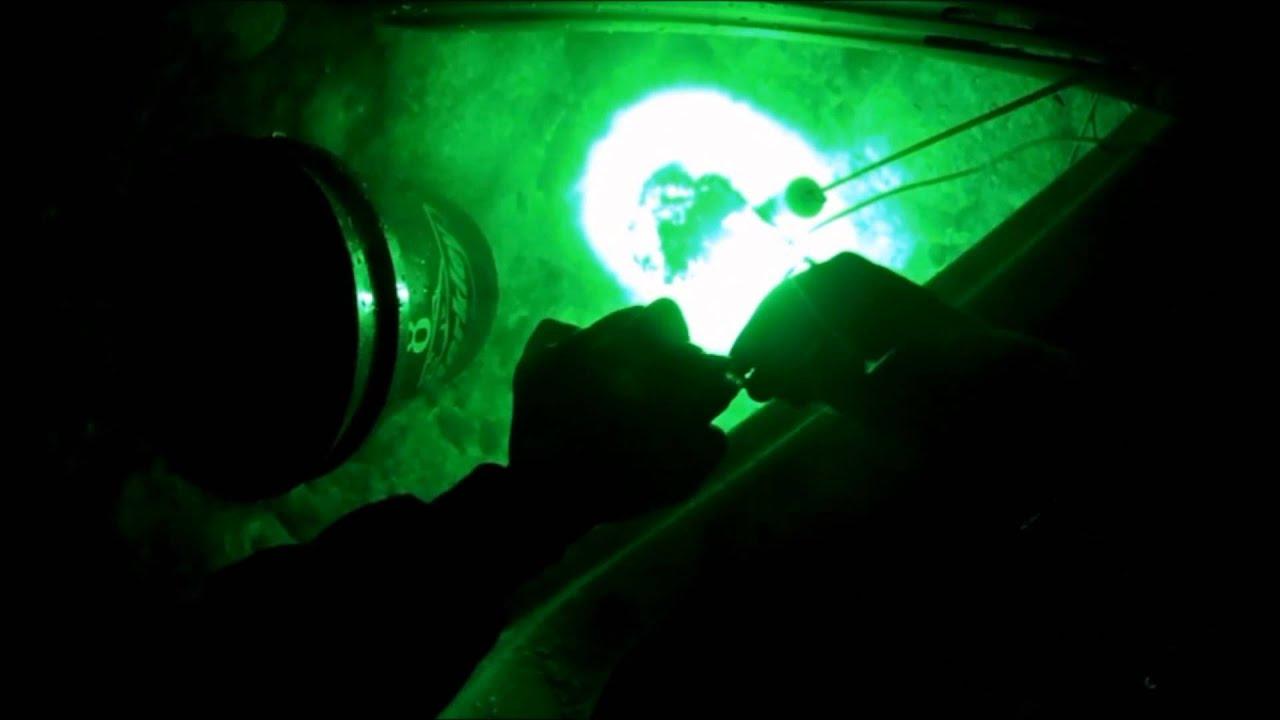 hydro glow fish light ice fishing - youtube, Reel Combo