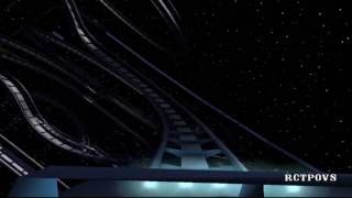 Space Mountain Disneyland HD POV RCT3
