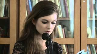Cecilie Lind - Forfatterskolens Afgangsoplæsning 2013