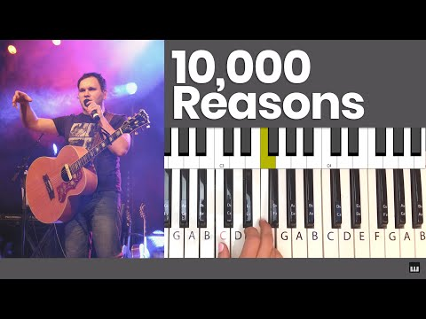 10,000 Reasons  Bless the Lord, Oh My Soul  Matt Redman Piano Tutorial and Chords