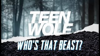 """Cast of Teen Wolf play """"Who's That Beast?"""" at San Diego Comic-Con 