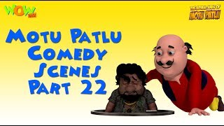 Motu Patlu comedy scenes Part 22 - Motu Patlu Compilation As seen on Nickelodeon