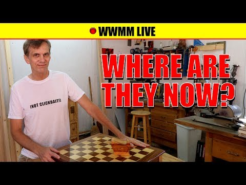 🔴 Where are they now? Chess board, purple bench and more!