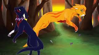 Коты Воители Души в огне