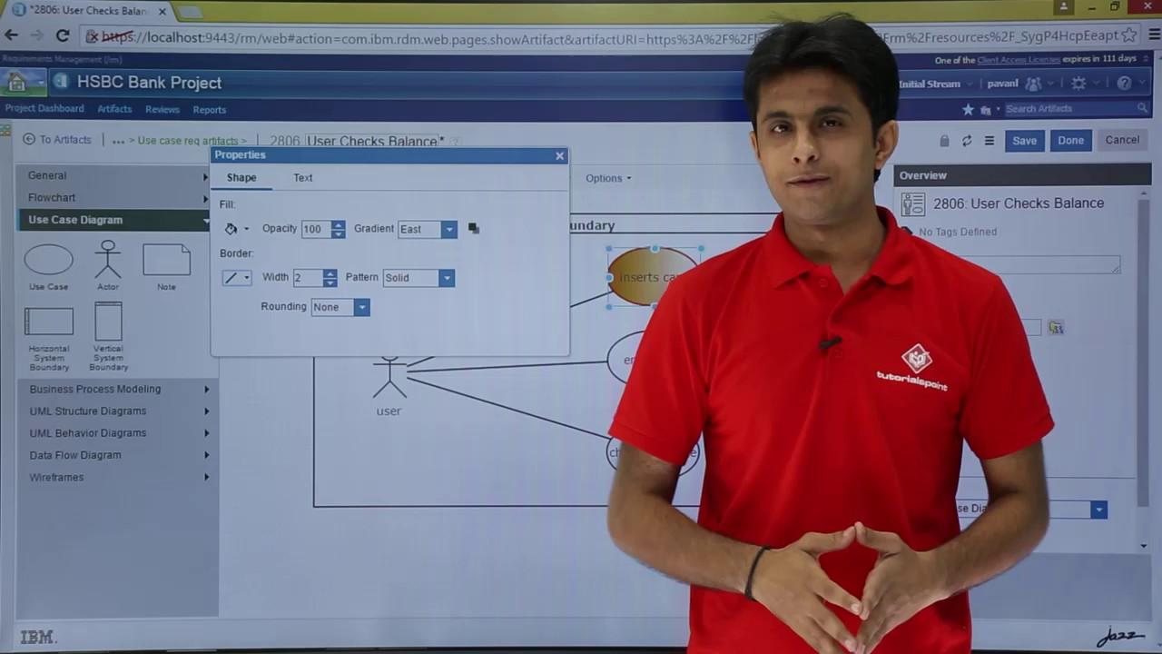 IBM RDNG - Format Use Case Diagram - YouTube