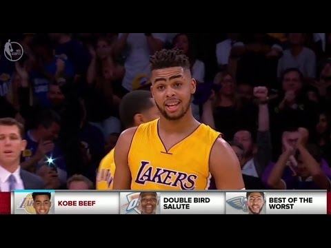D'Angelo Russell Enjoying Life Without Kobe Bryant? - SportsNation