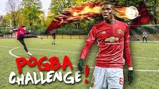 PAUL POGBA FUßBALL CHALLENGE!! (+ Bestrafung)