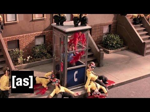 George R.R. Martin vs. The Nerds | Robot Chicken | Adult Swim