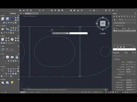 AutoCAD - Pembuatan Longitudinals Framing Midship Construction (Konstruksi Memanjang)