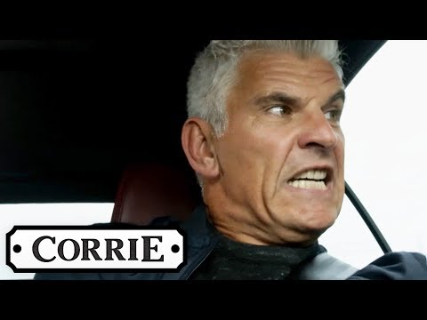 Robert Is Involved in a Horrific Car Crash | Coronation Street