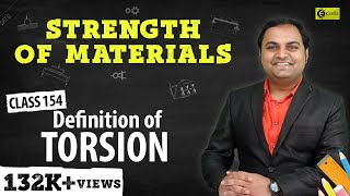 Definition of Torsion in Mechanical Engineering