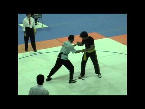 Daniel Caulfield - Push Hands World Champion - 2004 Chung Hwa Tai Chi World Cup Taipei, Taiwan