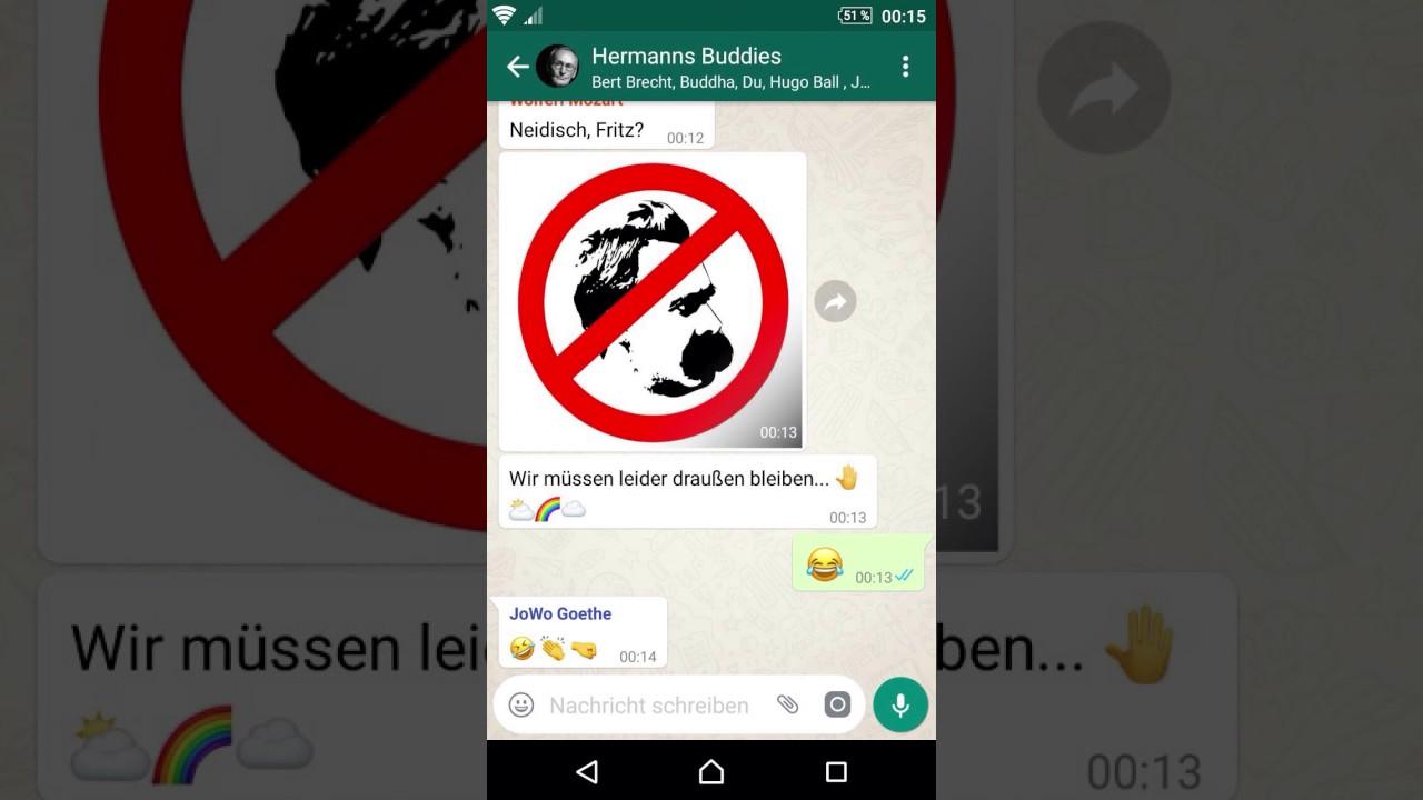 Hermanns Buddies Chat Geburtstagswünsche Für Hermann Hesse Youtube