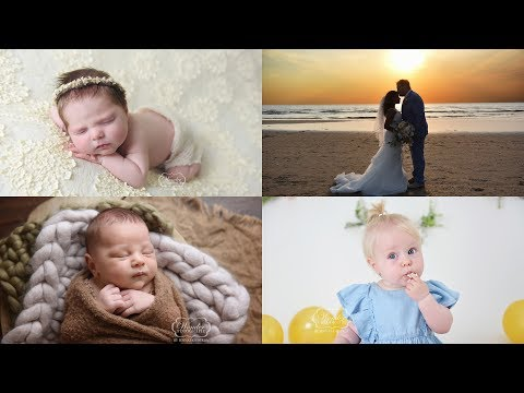 Weekvlog of a Photographer - Photographing newborn, baby and cake smash photoshoots & a WEDDING!