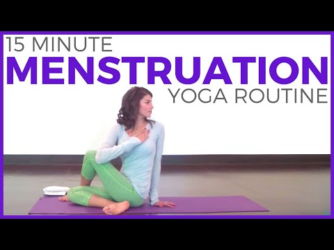 15 Minute Yoga for During Your Period | Yoga for Women
