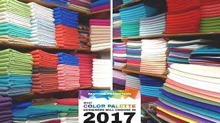 تعرفي على ألوان ثوب  الموضة  لصيف 2017  color palette