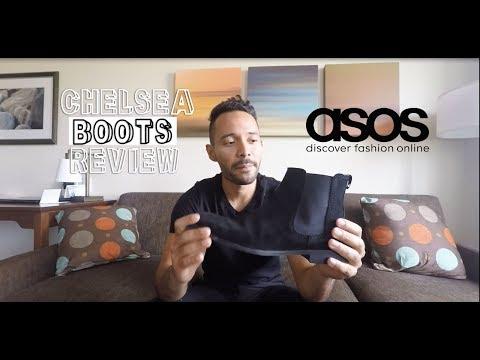 Asos Black suede chelsea boots review