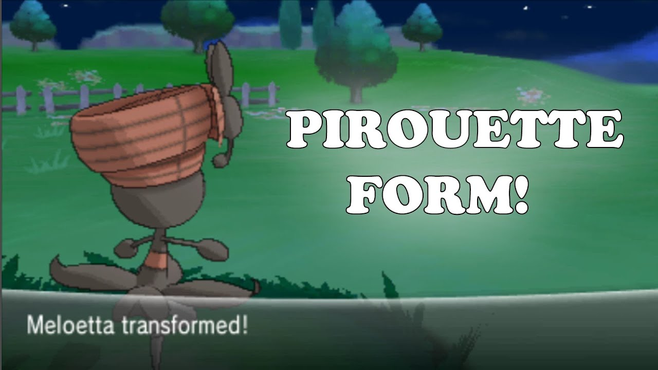 Pokemon X and Y - How To Get Meloetta Pirouette Form! - YouTube