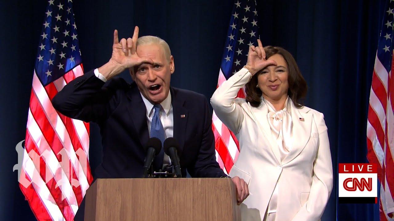 SNL Recap | Jim Carrey, Maya Rudolph celebrate Biden win, while Trump claims 'rigged election&#