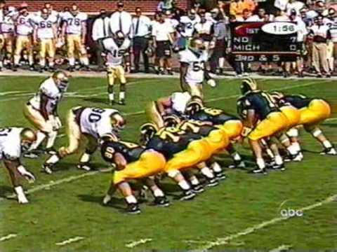1997: Michigan 21 Notre Dame 14 (PART 1)