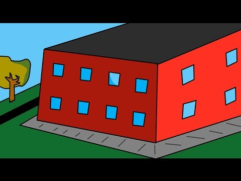 Neighbors are playing loud music - Solution (Funny cartoon)