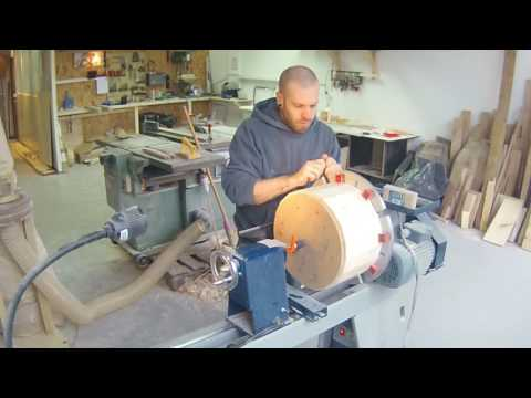 Making of a Solid Stavedrumshell
