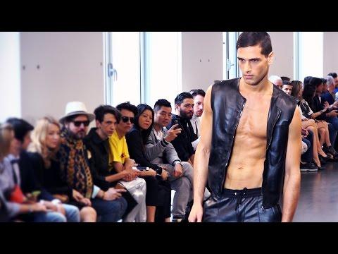 Fabio Mancini backstage at Richmond - Milan Fashion Week Spring Summer 2017